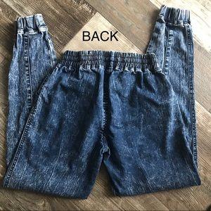 Seductions Jeans - 3/$20 Seductions   Women Acid wash joggers jeans S